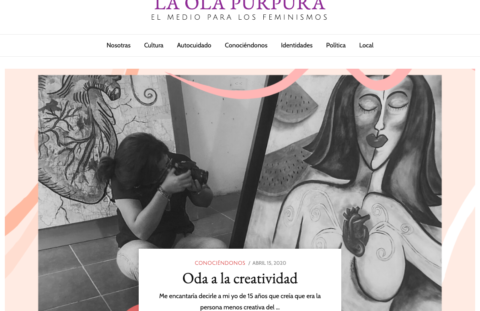 Sitio Web La Ola Purpura